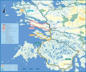 Clifden-Cycle-Routes-Map