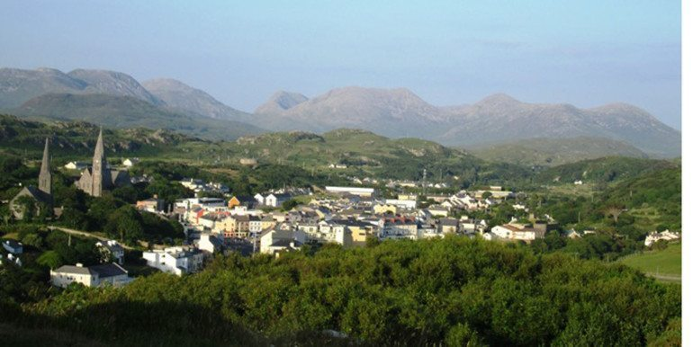 Clifden from sky