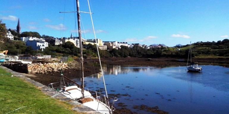 Clifden docks